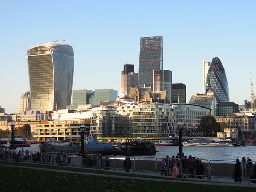 London skyline | by skagman