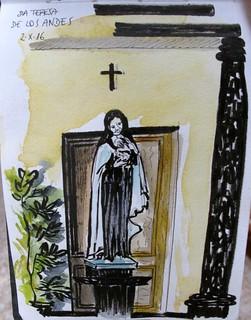Sta. Teresa de Los Andes. Chile