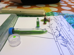 fast ink, slow ink