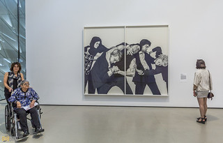 Robert Longo The Broad Museum Los Angeles 01 | by Eva Blue