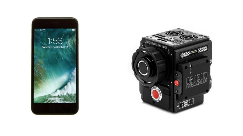 La vidéo de l'iPhone 7 Plus peut-elle se comparer à la caméra Red Weapon de 50 000$ ?