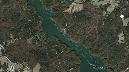 Lake Russell Paddle Path