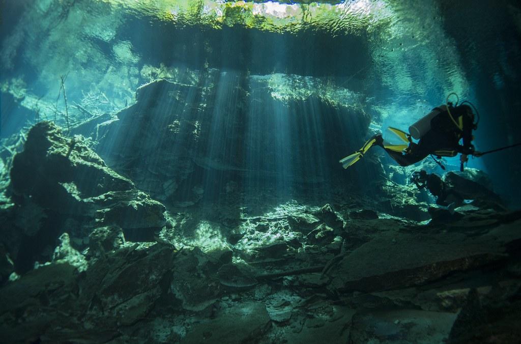 Cenotes Chac Mool