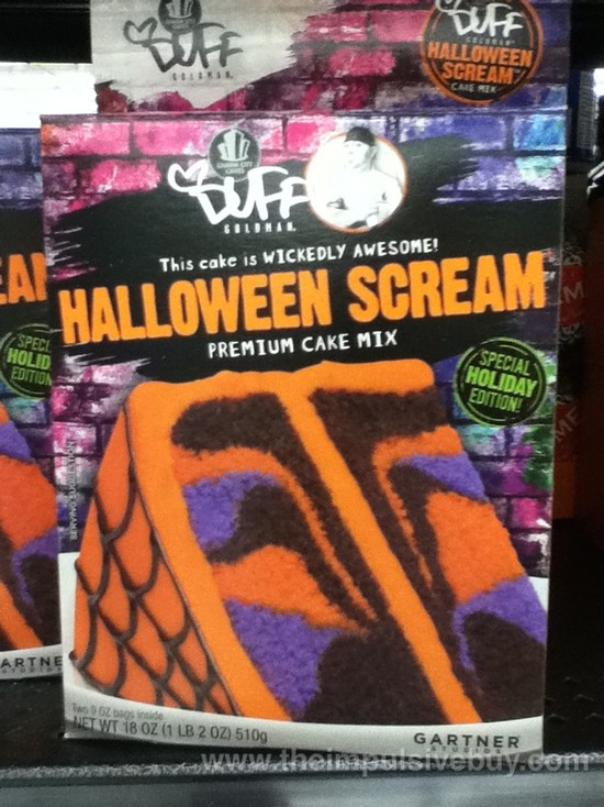 duff goldman halloween scream cake mix by theimpulsivebuy