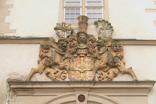 Wappen im Schloss