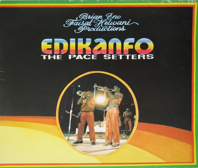 Edikanfo African Super Band The Pace Setters Brian Eno