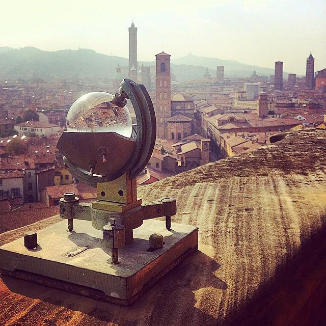 Vue sur Bologne depuis l'observatoire astronomique de l'Université - Photo de Rete Civica Iperbole