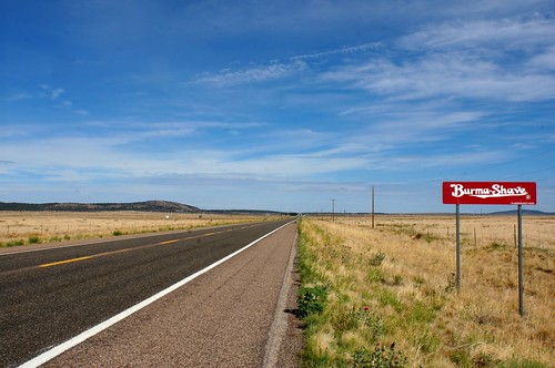 Burma Shave signs on westbound Route 66, Arizona | by RoadTripMemories