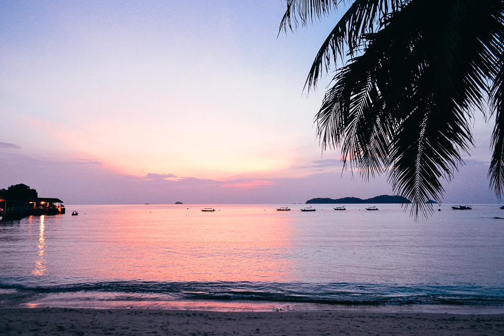 Salang Malaysia tioman Island sunset