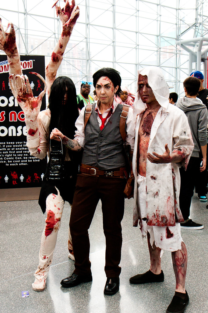 The evil within sebastian cosplay