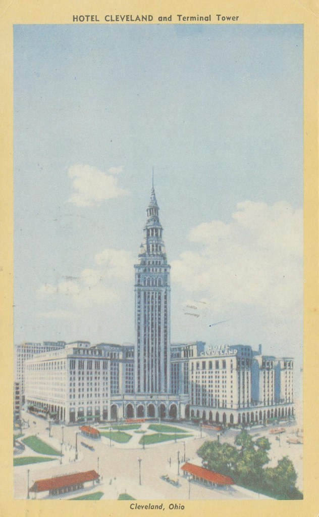 Hotel Cleveland and Terminal Tower - Cleveland, Ohio