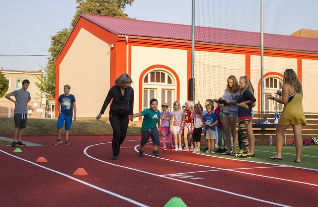 130 let školy - sportovní den