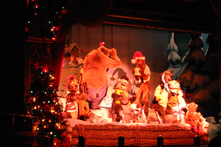 The Five Bear Rugs at the Country Bear Christmas Show | by Disney, Indiana