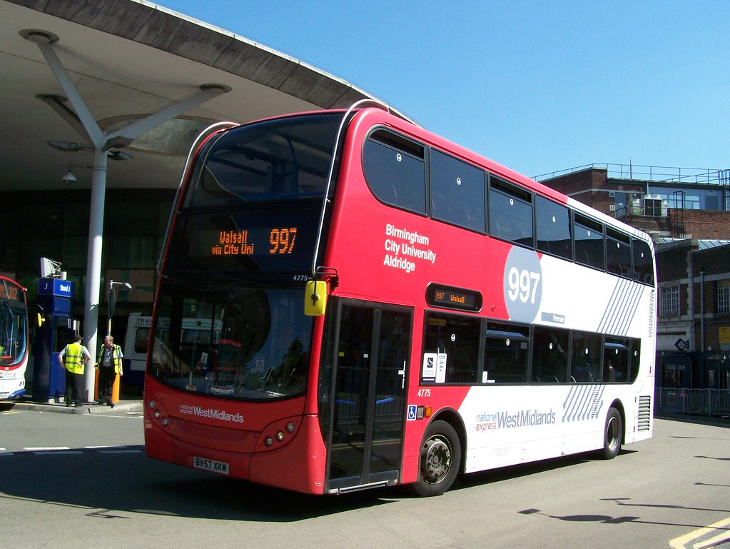 100603 153815 West Midlands Travel Limited 4775 Bv57xkw By Bus Buster