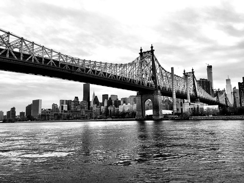 Queensboro #bridge #newyork #ne#nyc #queens #blackandwhite #blackwhite #bw | by lelobnu