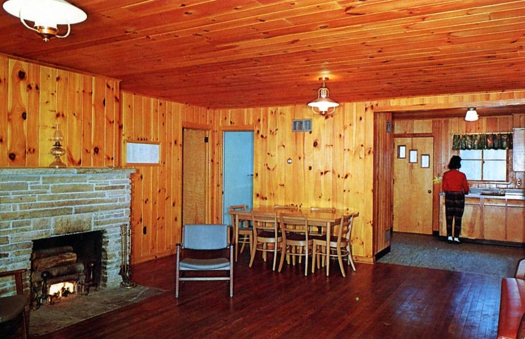 Blackwater Falls State Park Cabin Interior Wv Four Bedroom Flickr