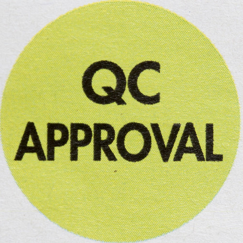 QC Approval | by Mark Morgan Trinidad B
