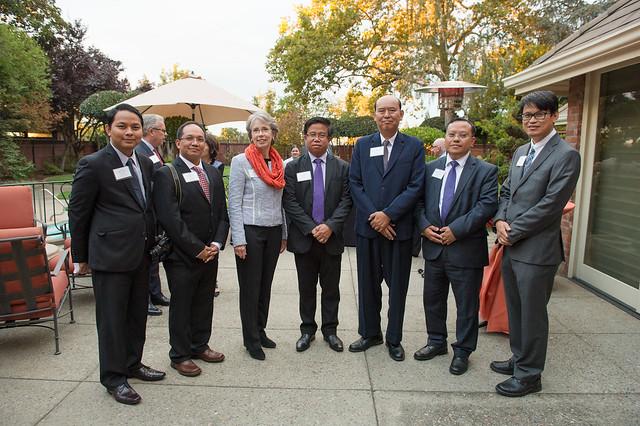 Myanmar delegation visits Pacific