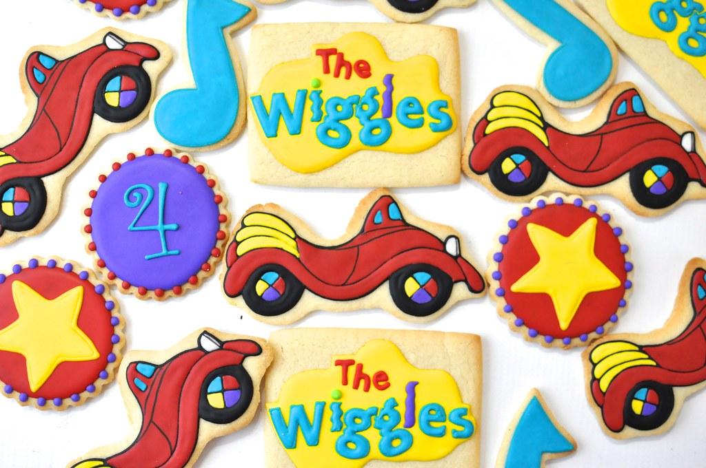The Wiggles Cookies | Kelley Hart | Flickr