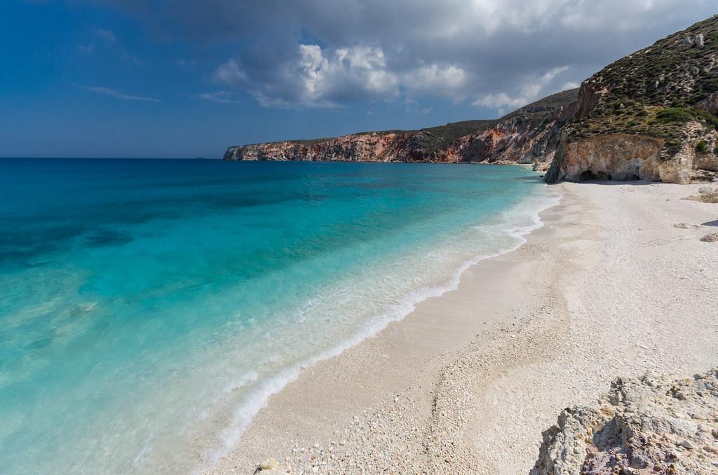 Milos, Voudia beach