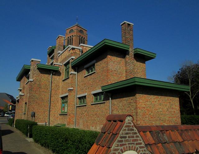 Art Deco Building, Zonnebeeke,