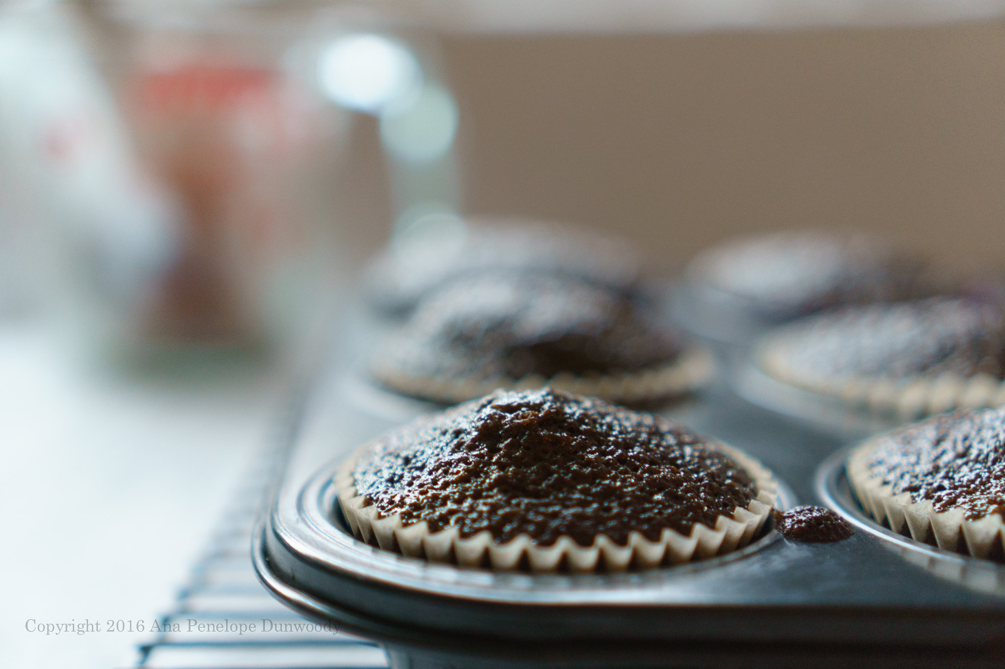 Baked Chocolate Cupcakes