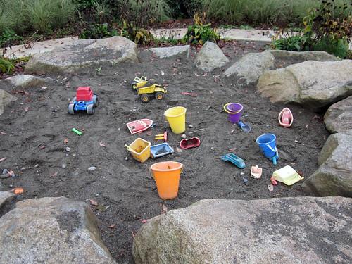 Sandbox Built On The Confluence Of The Tolt And Cedar