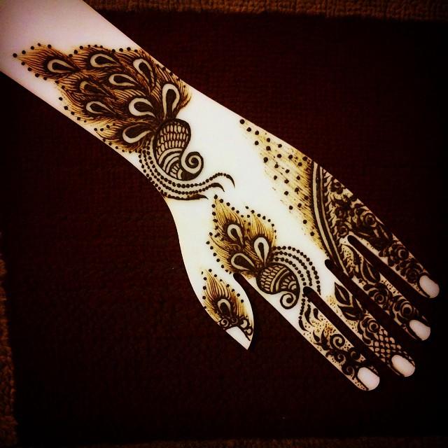 Time For Some Gulf Style Henna Design Heena Henna Henn Flickr