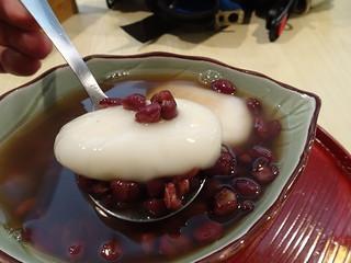 麻糬紅豆湯