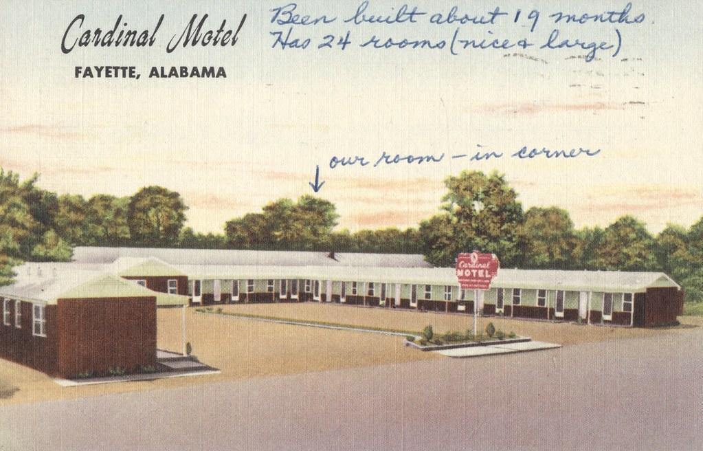 Cardinal Motel - Fayette, Alabama