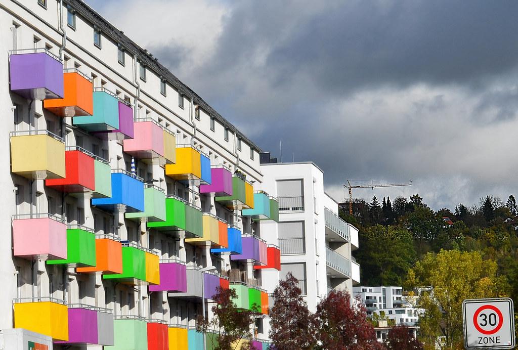 Kemmler Tübingen depot tübingen knackig bunte balkone baustoffe kemmler flickr