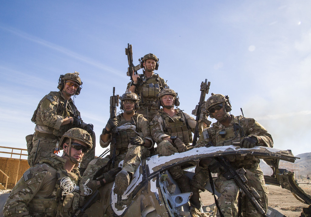 fort irwin calif u s army rangers assigned to alpha flickr
