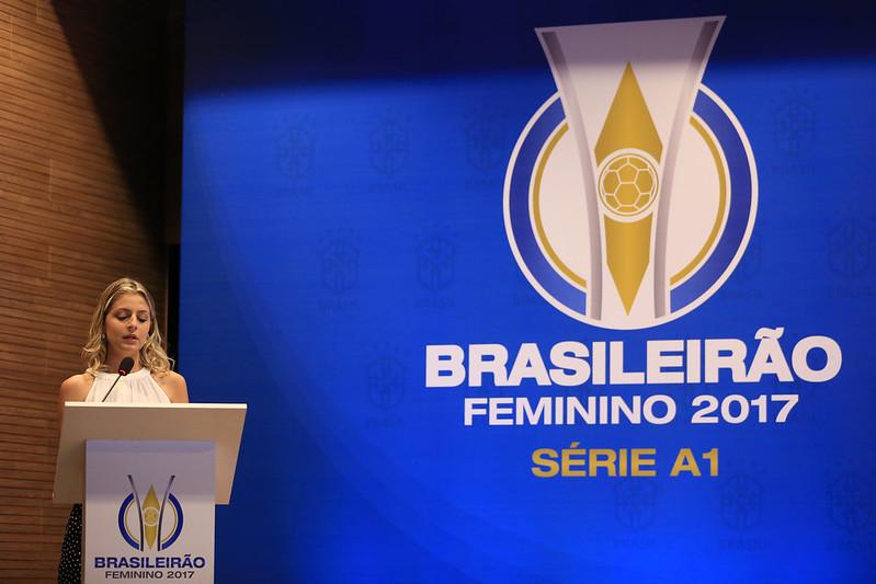 Lançamento do Brasileirão Feminino 2017