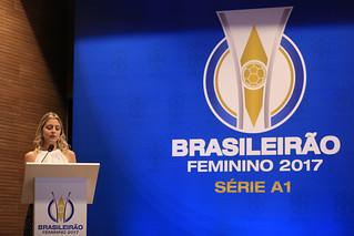 Lançamento do Brasileirão Feminino 2017. Monique Danello - Lucas Figueiredo/CBF | por cbf_futebol