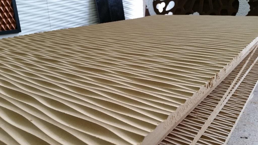Panneaux 3D decoratifs - 3D sculptured MDF | Panneaux 3D dec… | Flickr