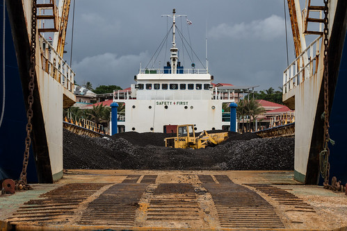 Coal in Ship | by AdamCohn