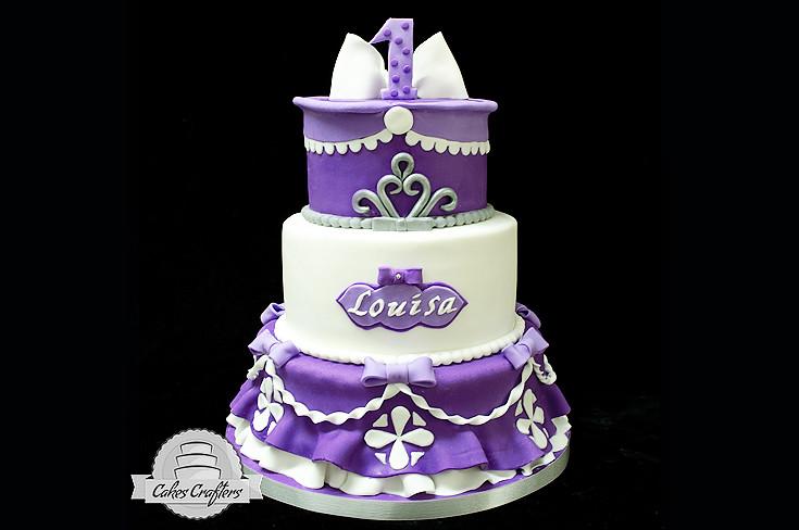 Purple Cake Dress