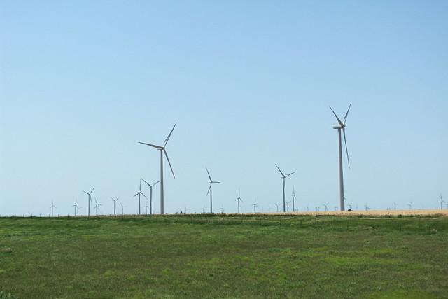 Wind Farms in Kansas
