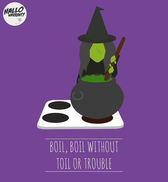 Boil Boil without Toil or Trouble