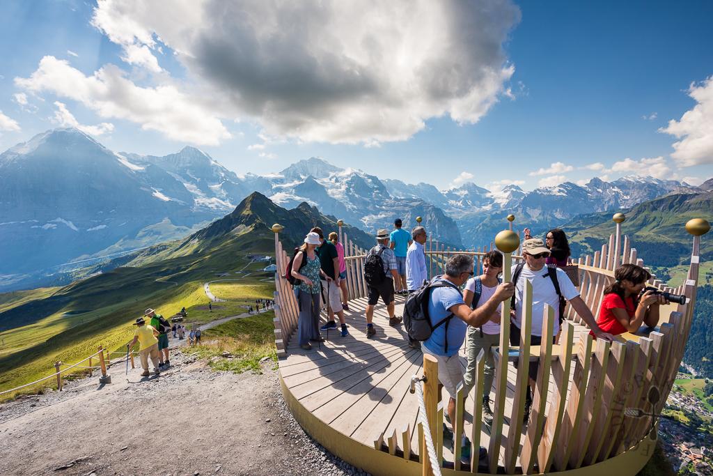Royal Walk: Männlichen – Männlichen Gipfel