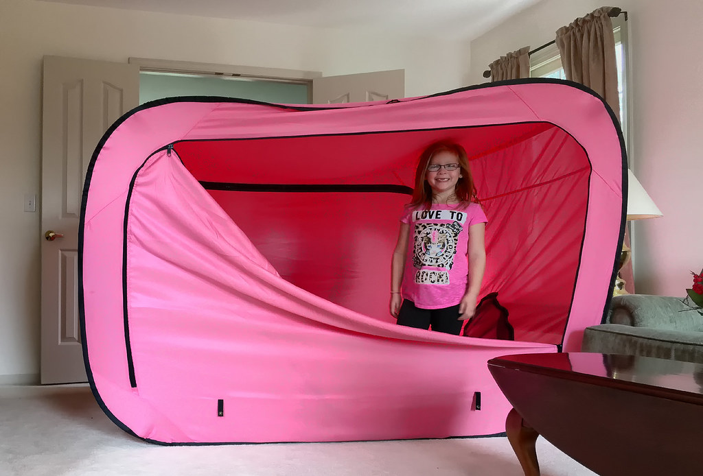 ... Privacy Pop® Bed Tent | by SteveMather  sc 1 st  Flickr & Privacy Pop® Bed Tent | Privacy Pop bed tent used here as au2026 | Flickr