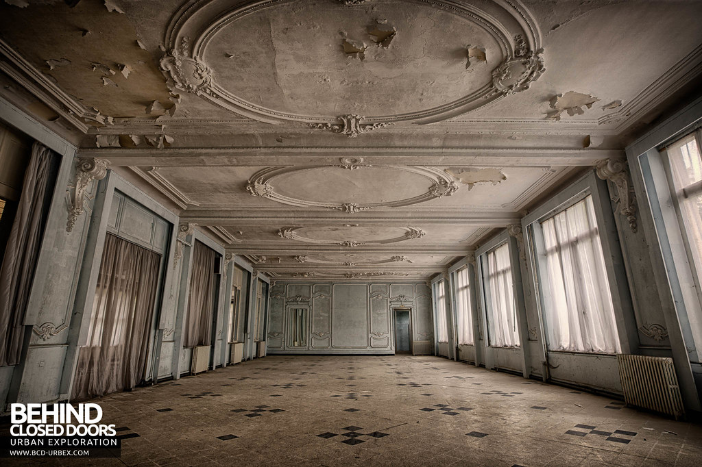 ... Ballroom Thermale | by Behind Closed Doors Urbex & Ballroom Thermale | The ballroom at Hotel Thermale an abandu2026 | Flickr