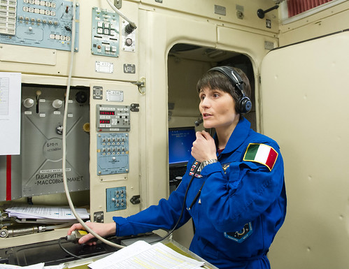 Taking to a simulated Mission Control Moscow | by AstroSamantha