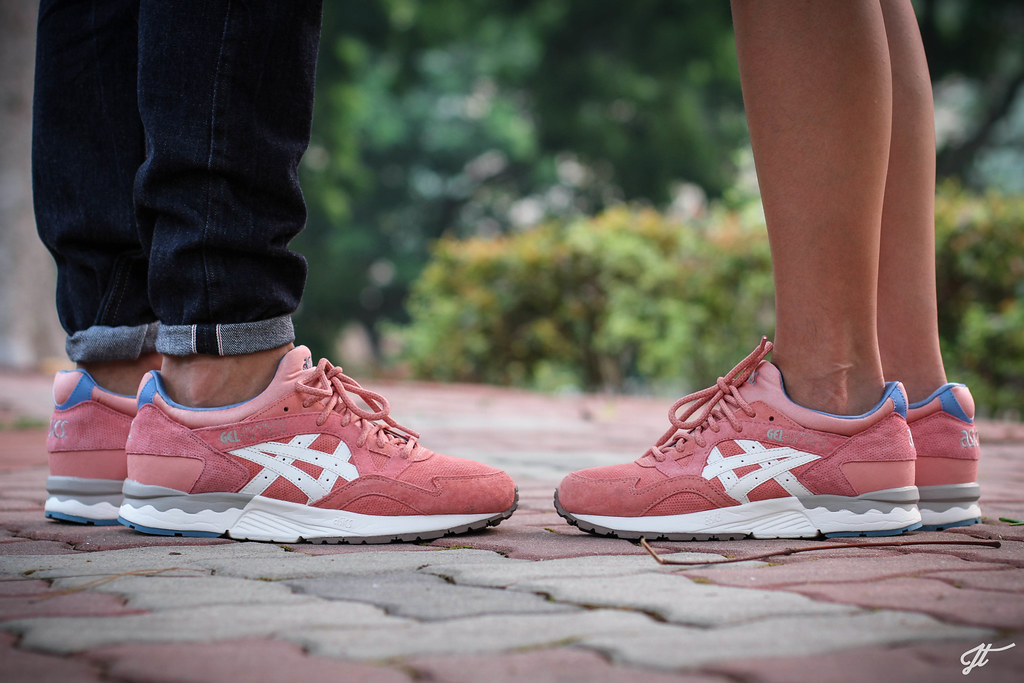 asics gel lyte 5 rose