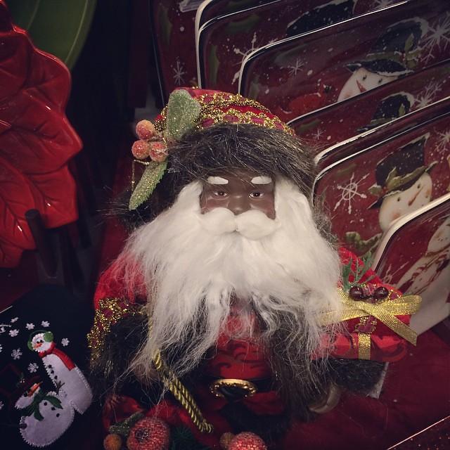 i found a black santa at wegmans black santa cmas - Is Wegmans Open On Christmas