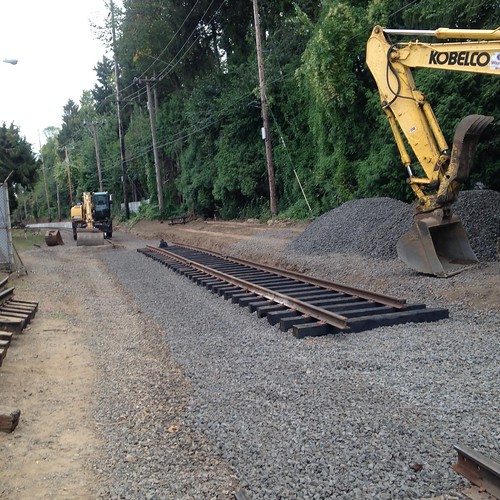 Construction at Golf Junction