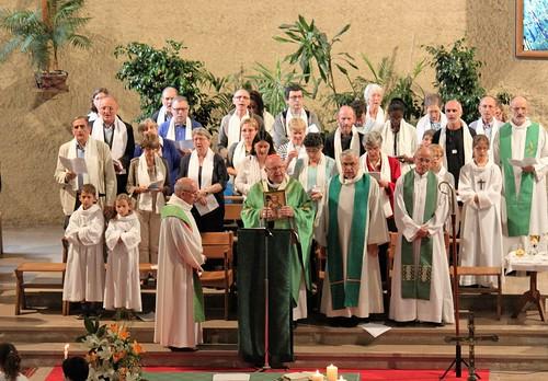 Célébration d'installation du père Christian Alexandre