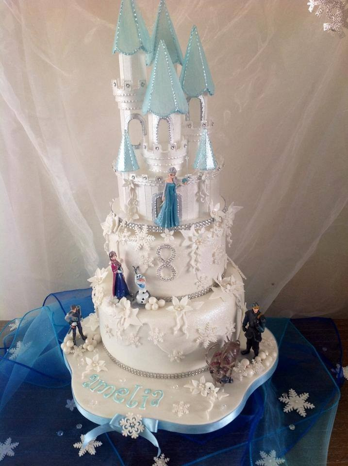 My Little Girls Frozen Birthday Cake X Victoria Egan Flickr