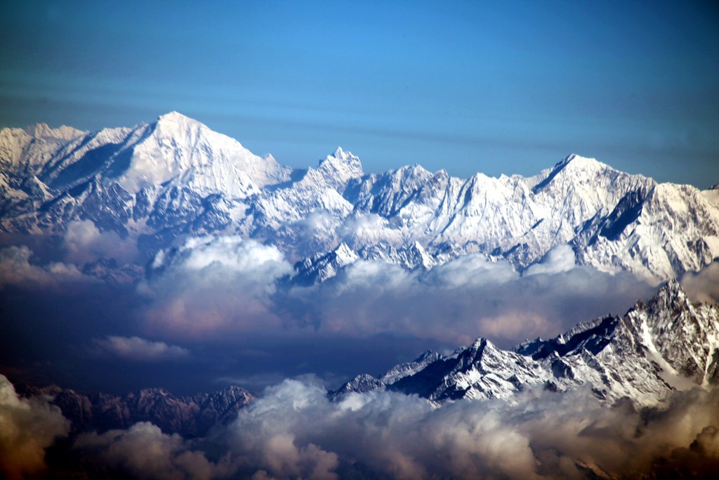 The Himalayas and Mount Everest.