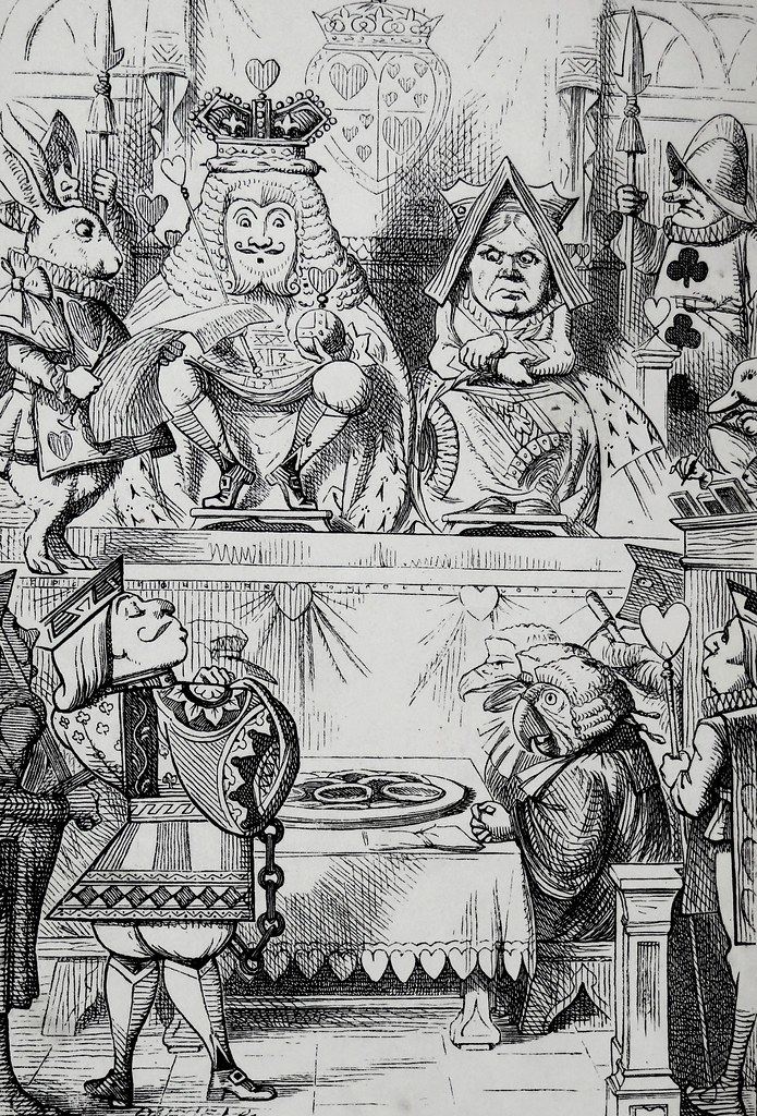 The King Queen And Knave Of Hearts Art By John Tenniel Flickr